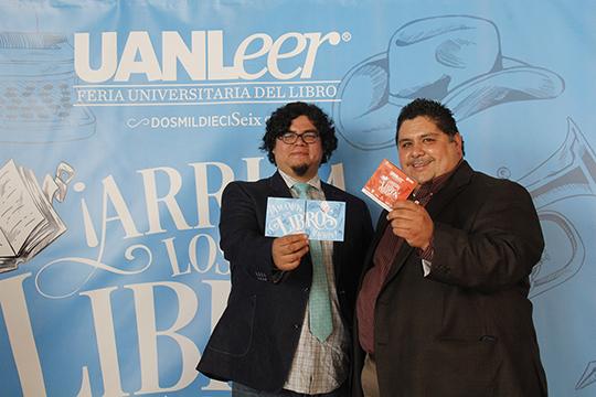 Pepe y Toño UANLeer