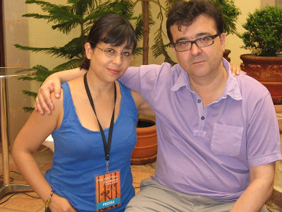 con Javier Cercas