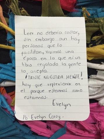 Texto Evelyn