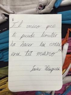 Texto Javier
