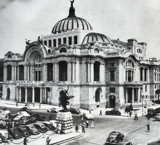 Bellas Artes en los 40