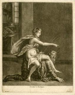 socrates-y-jantipa-grabado-de-henri-gascar-hecho-ha-1681