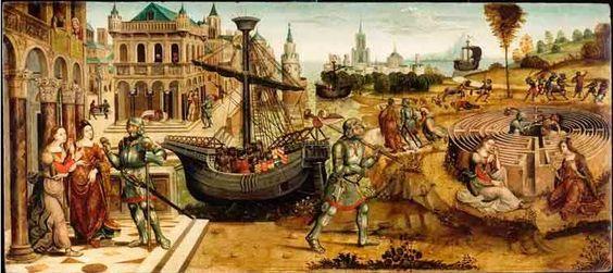 maitre-des-cassoni-campana-la-leyenda-cre-tense-teseo-y-el-minotauro-1500-1525