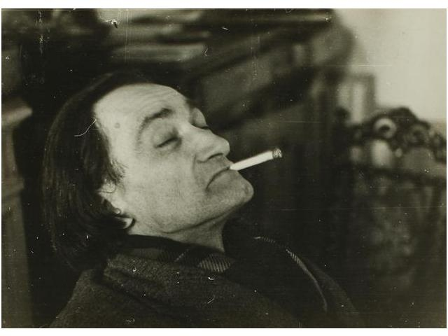 Antonin Artaud retratado por Gerard Pastier en 1947