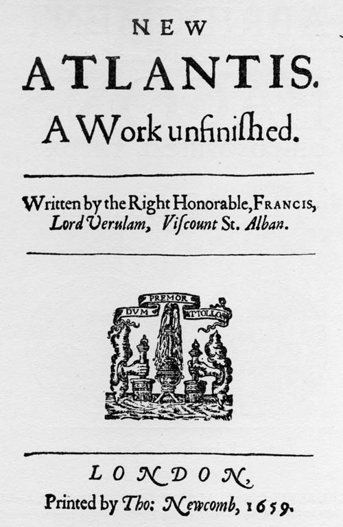 Titlepage: New Atlantis (1659)