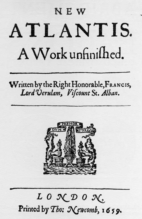 Titlepage: New Atlantis (1659)
