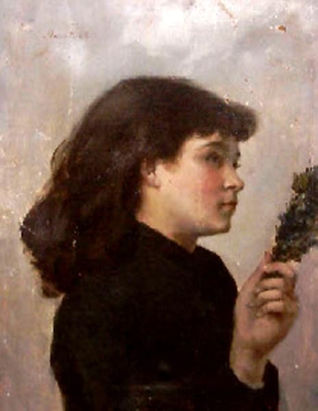 Domingo de ramos, 1885-Victorine Meurent