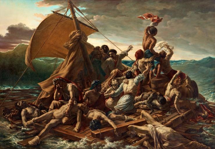 La balsa de la Medusa.