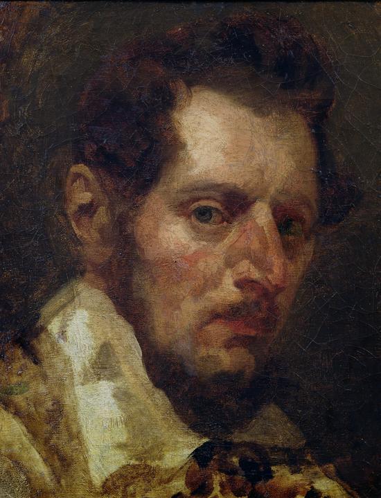 Théodore Géricault-Autorretrato