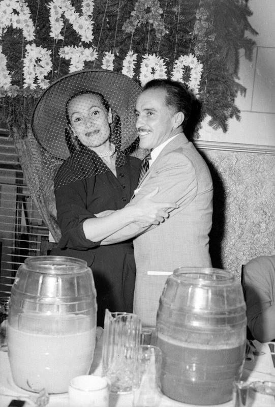 Dolores del Río y Gabriel Figueroa