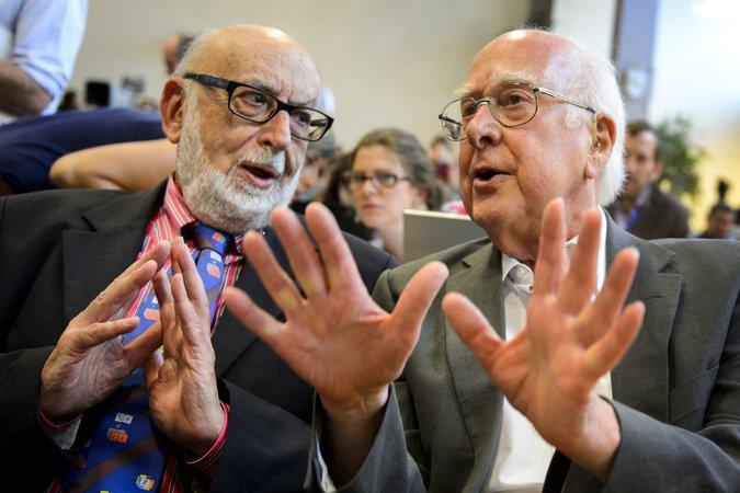 Higgs y François Englert