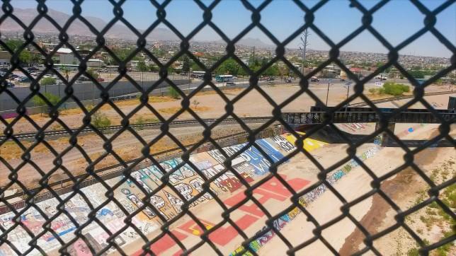 Grafitti desde el puente