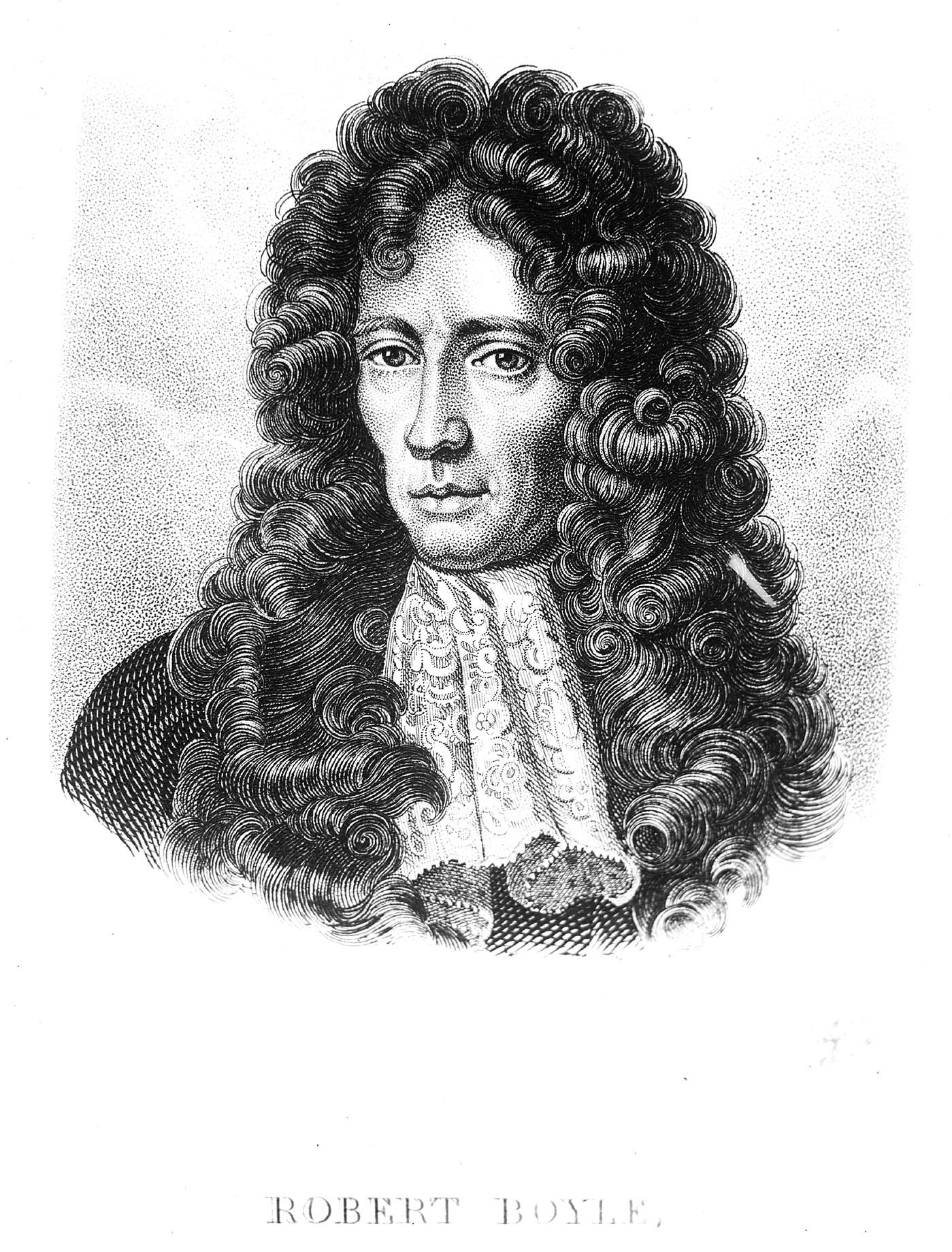 M0002557 Portrait of The Honourable Robert Boyle (1627 - 1691)