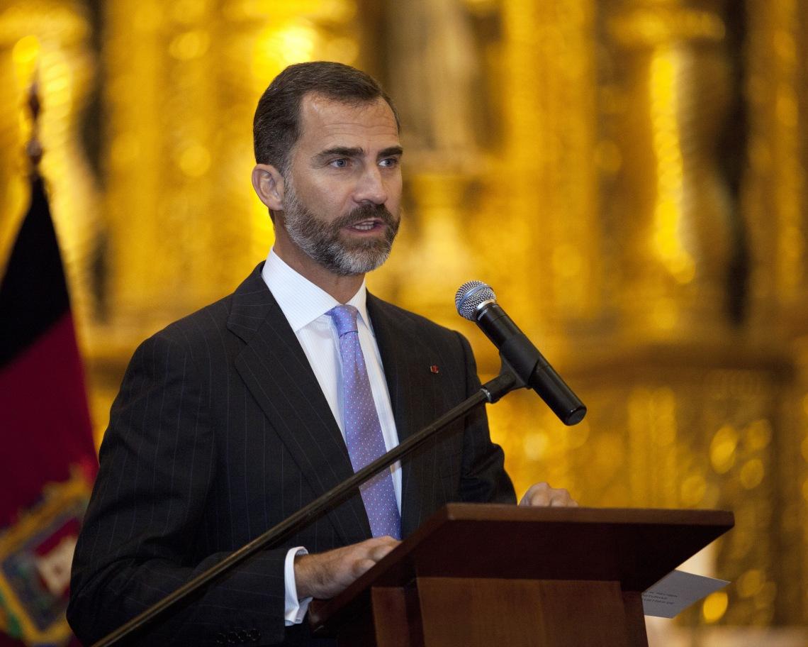 Visita oficial de los Príncipes de Asturias