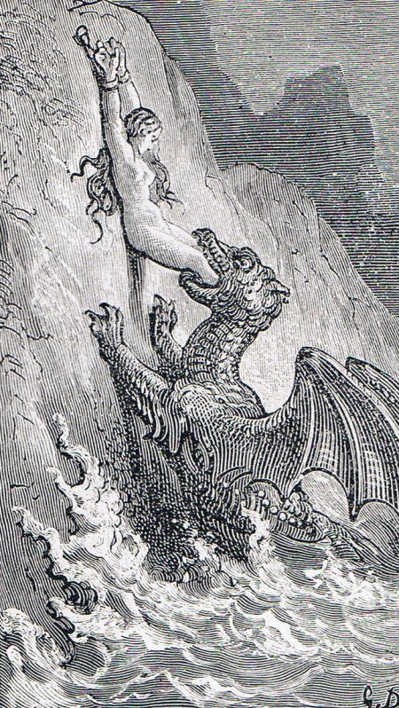 Gustave Dore? Perseus Comes Too Late, Gustave Doré