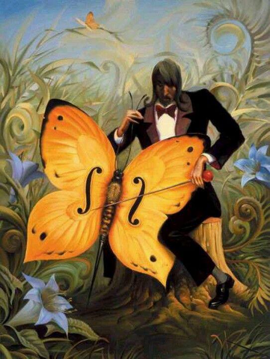Mariposa musical_Vladimir_Kush