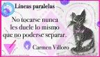 Las Postales de Mónica: Carmen Villoro
