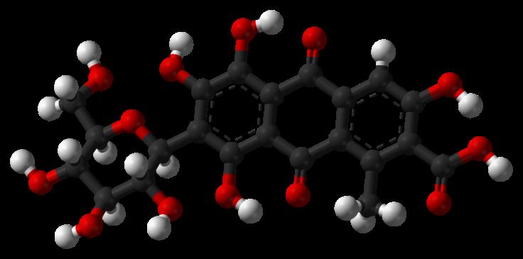 Carminic-acid-3D-balls