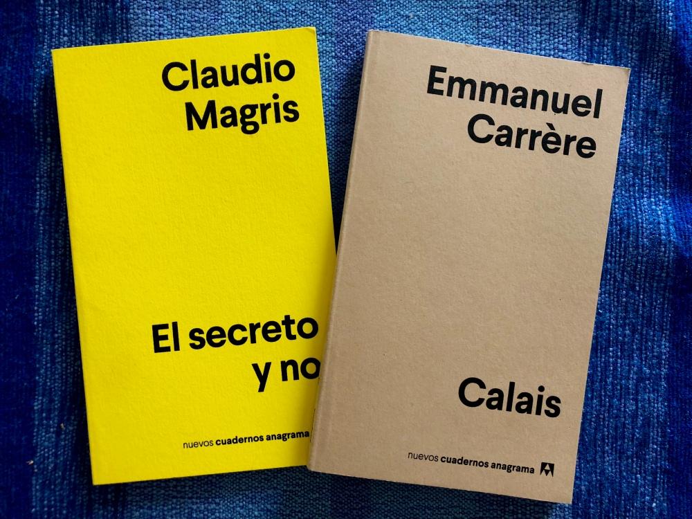 Nuevos cuadernos Anagrama