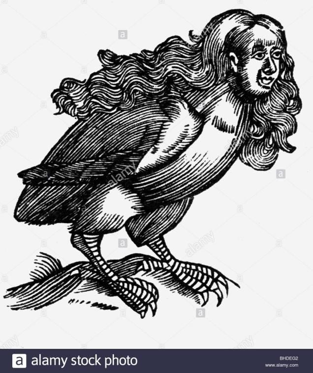 arpias-criaturas-miticas-griegas-mitad-mujer-mitad-pajaro-xilografia-alrededor-del-siglo-xvi-las-leyendas-la-mitologia-la-leyenda-la-antigua-world-bhdeg2